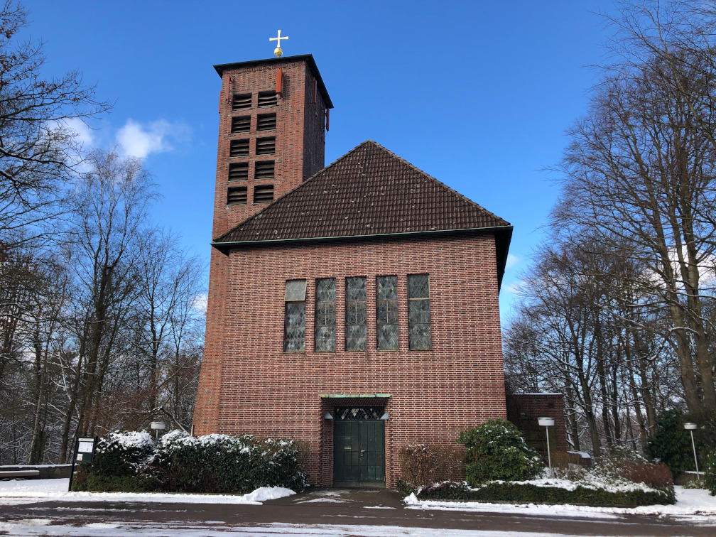 Foto: Unsere Kirche im Winter